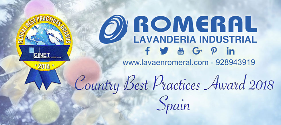 Happy Holydays and a Prosperous Year 2019 full of opportunities  an projects. | ROMERAL - Lavandería Industrial Especializada